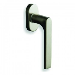 Window latch Pino on square rosette