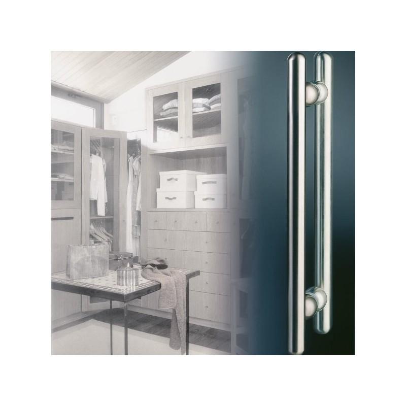 Juego manill n tirador recto cristal manillas y complementos - Tirador puerta cristal ...